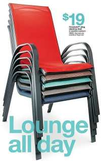 Target Weekly Ad: Sling Stacking Patio Chair - Threshold ...