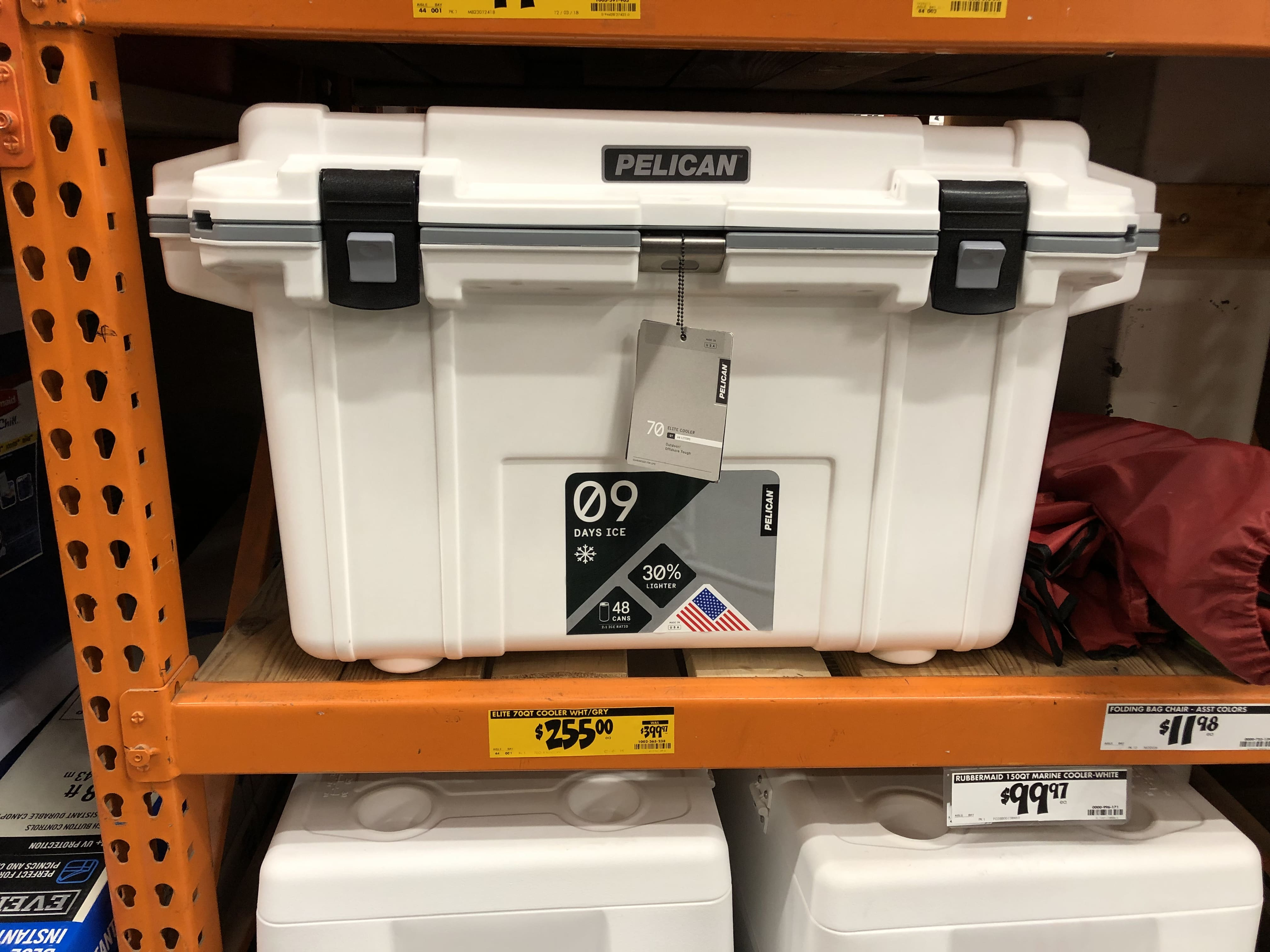 Home Clearance Pelican Roto Molded 70qt Cooler 225 Home Depot Clearance Ymmv