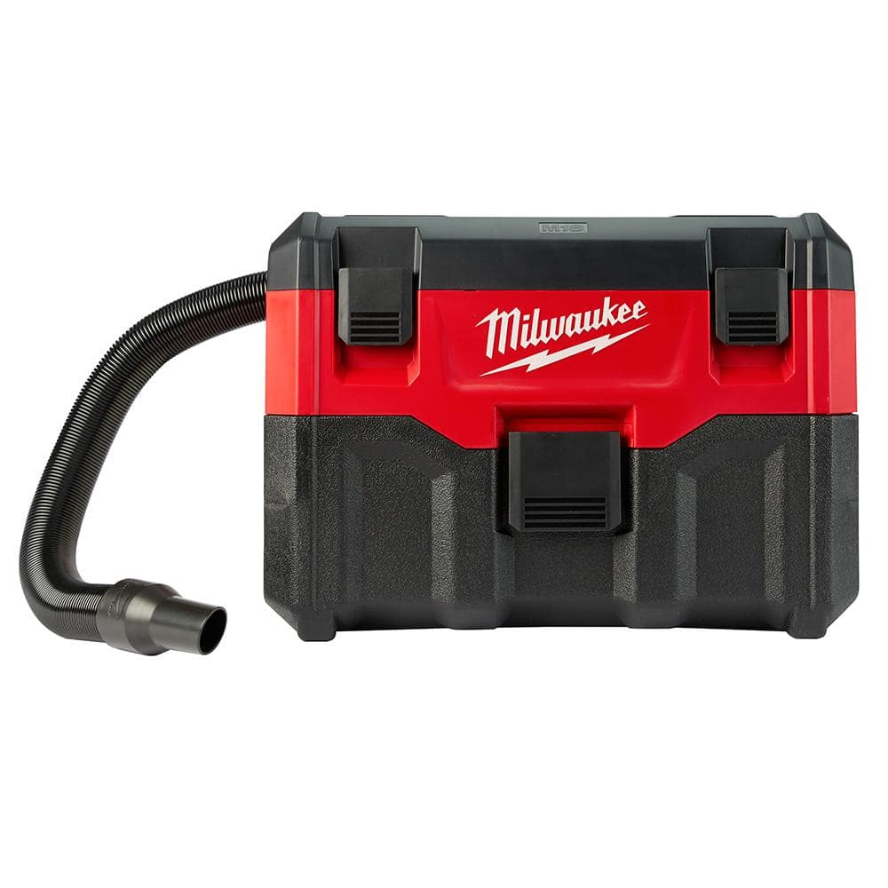 Milwaukee M18 Battery Milwaukee M18 18 Volt 2 Gal Lithium Ion Cordless Wet Dry Vacuum Tool Only