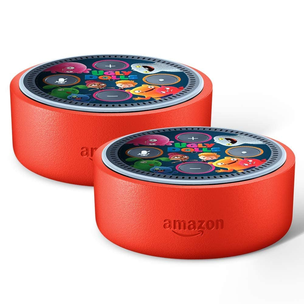 Alexa Dot Echo Dot Kids Edition 2 For Price Of 1 Includes Free Uglydolls