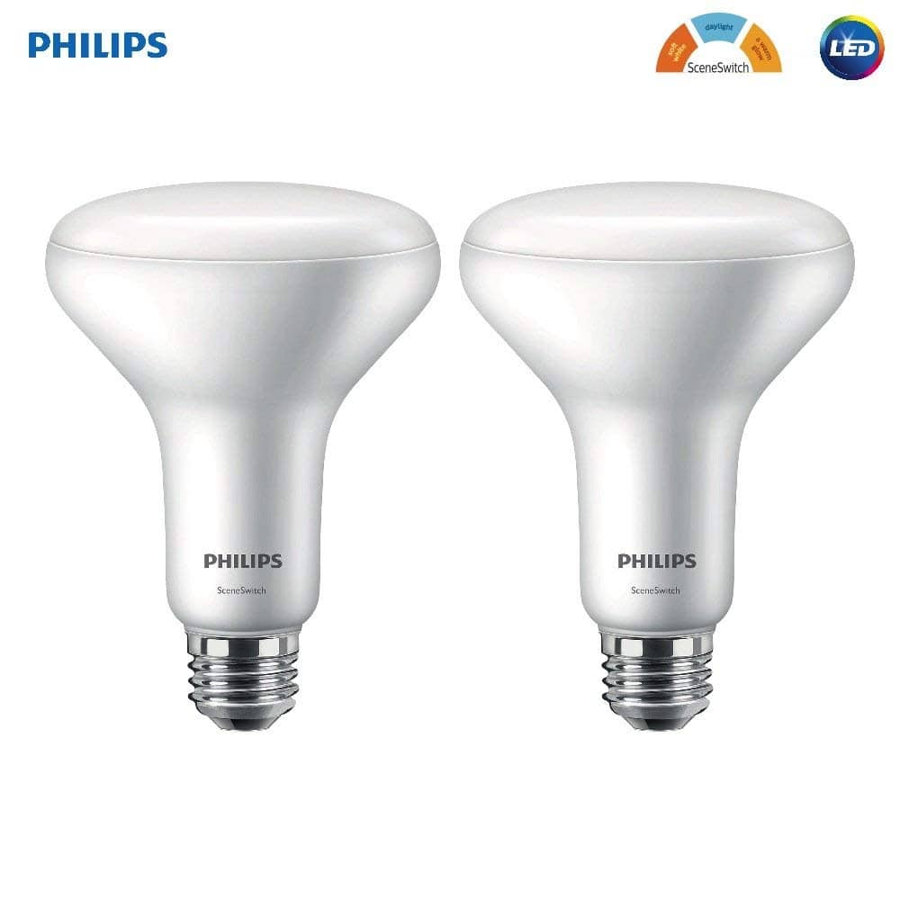 Philips Hue Br30 Amazon 4 Pack Philips Led Br30 Sceneswitch Color Change Light Bulb