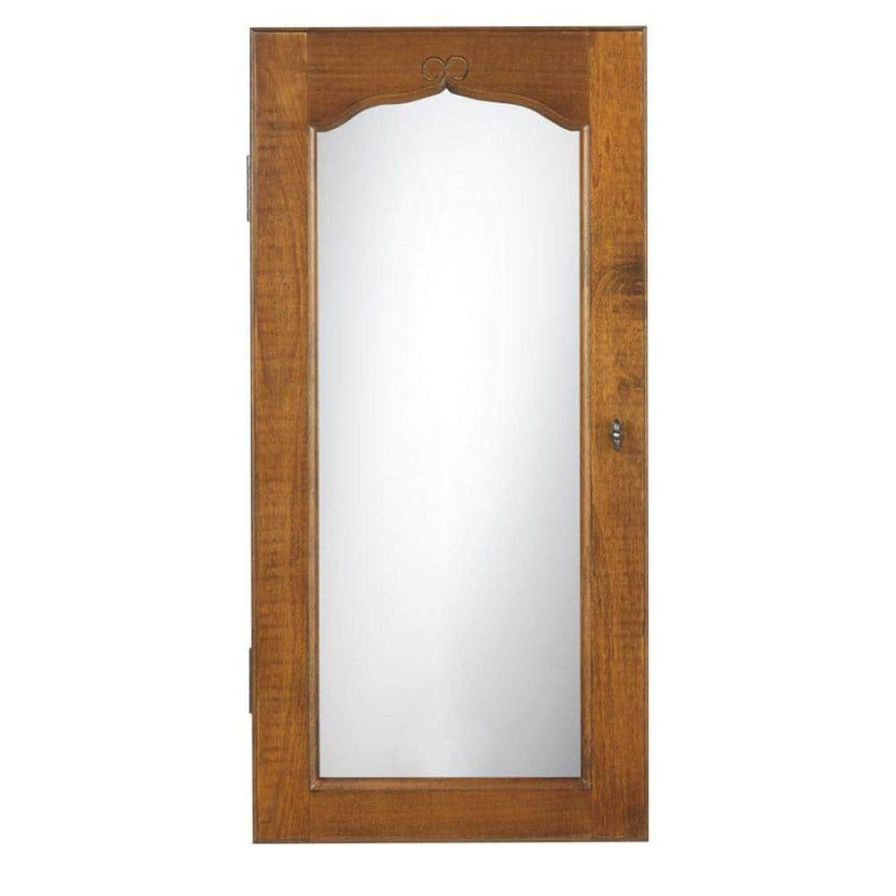 Armoire Promo Home Depot Provence Wall Mount Jewelry Armoire W Mirror And More