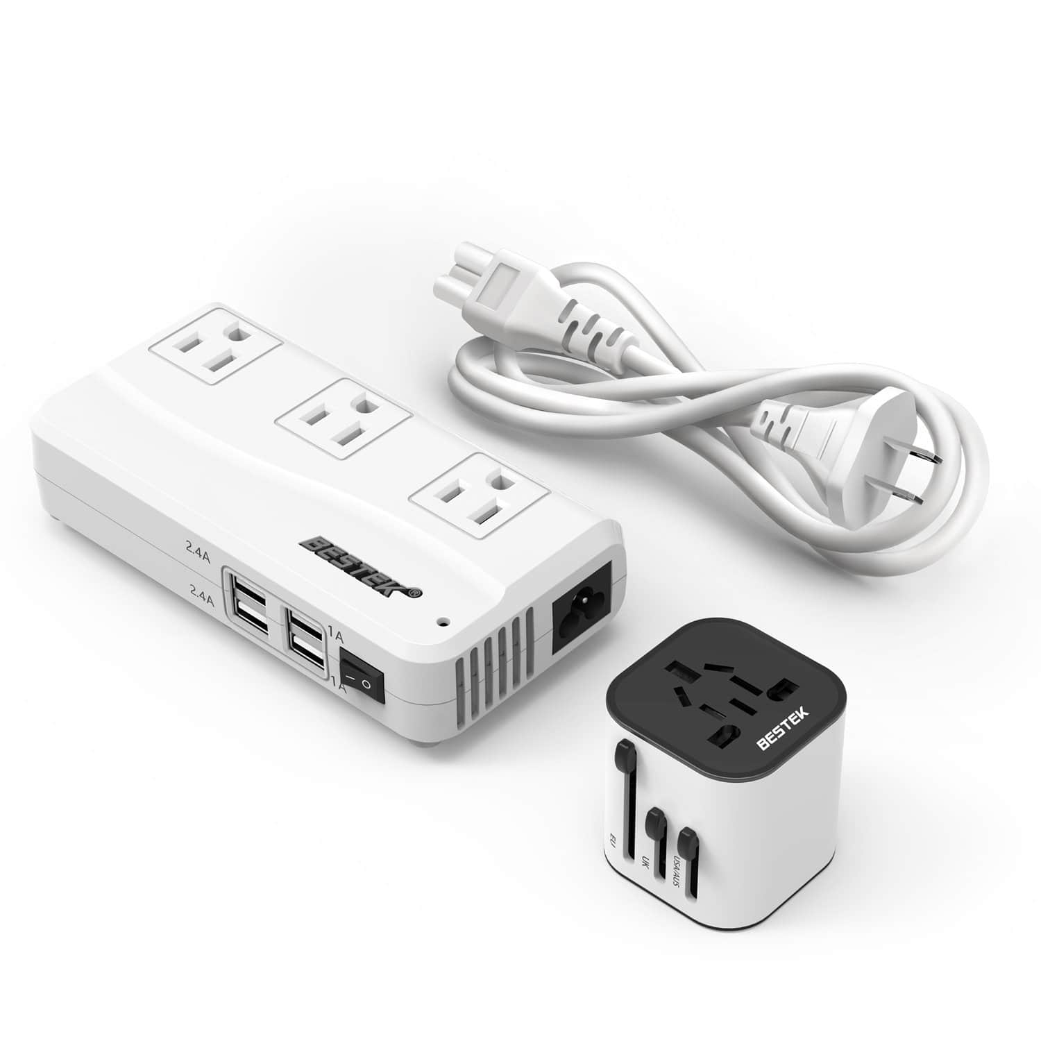 Travel Adapter Amazon Bestek Converter And Travel Adapter Combo For 9 97 Via