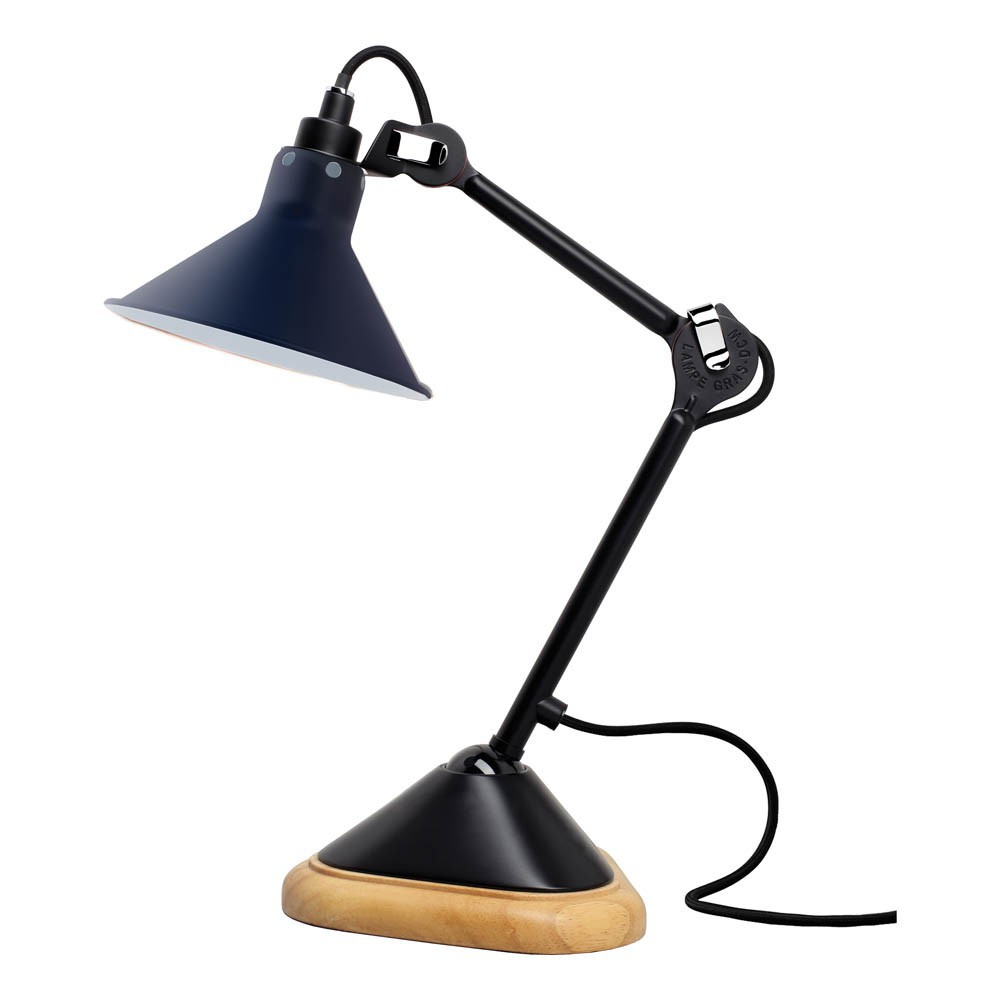 Lampe Gras Lampe Gras Adjustable Lamp N207 Navy Blue Dcw Editions Design