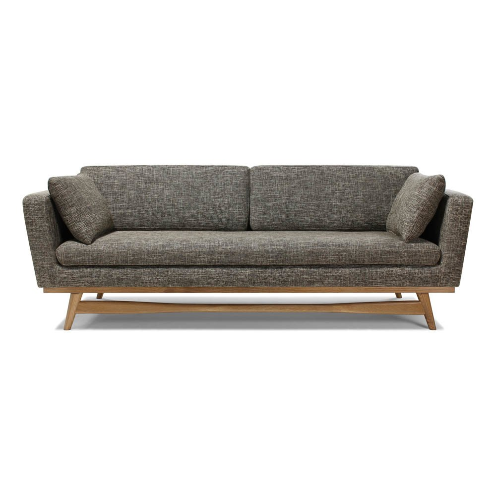 3er Sofa 3er Sofa 210 Beige Red Edition Design Erwachsene