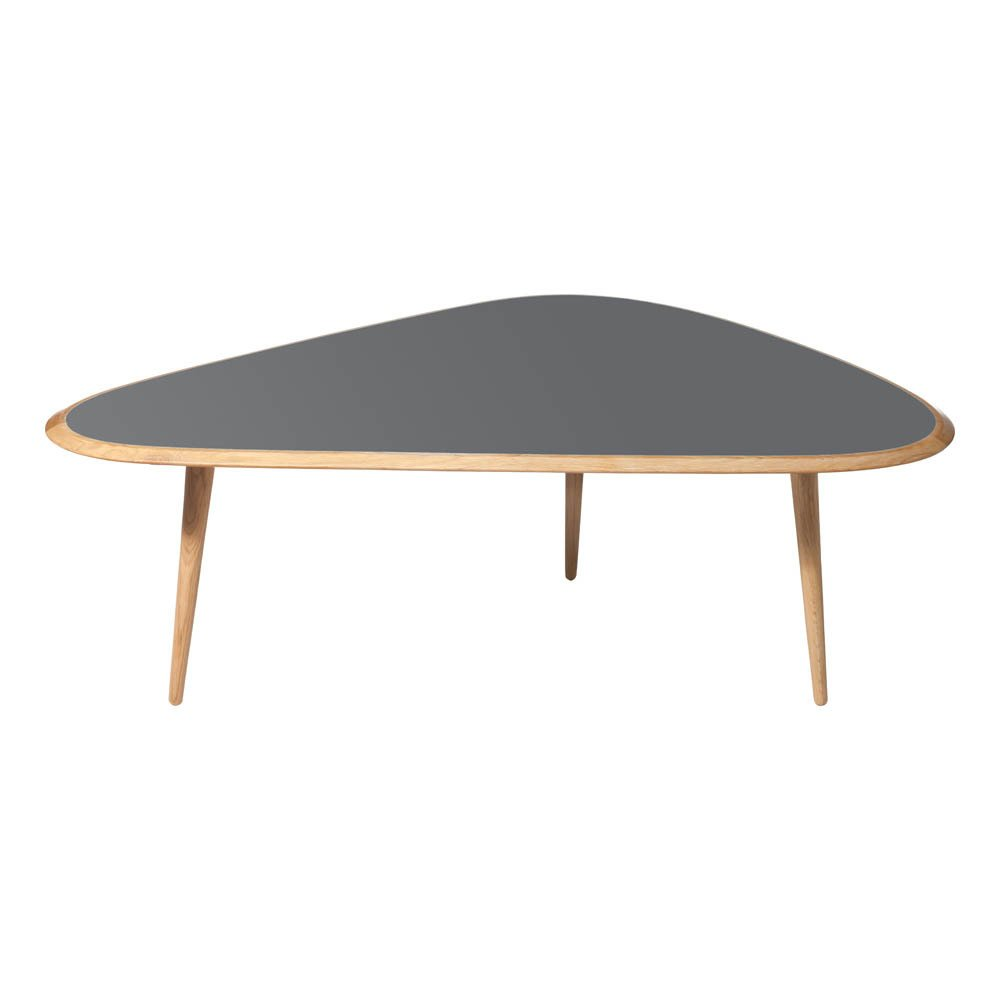 Table Basse Chene Massif Table Basse Chêne Massif Laque Sur Mdf Gris Red Edition Design