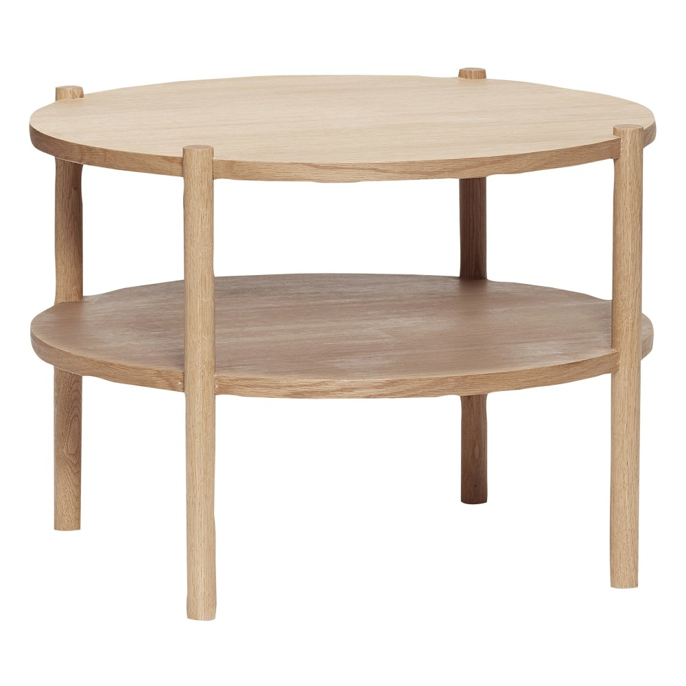 Couchtisch Eliptical Oak Round Coffee Table Hübsch Design Adult