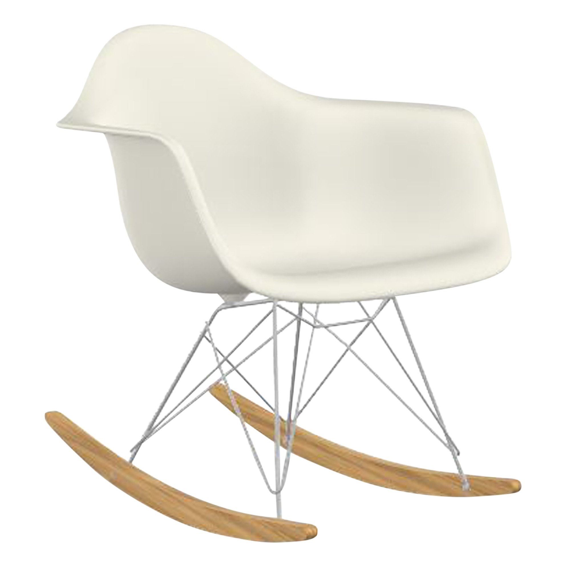Eames Rar Eames Rar Rocking Armchair Rod Base Chair Chrome Base