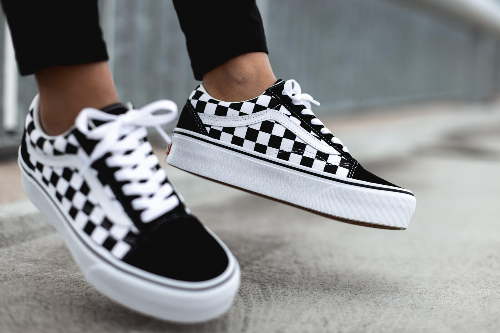 Instagram Chat Löschen Vans Women's Old Skool Platform Checkerboard/black/true