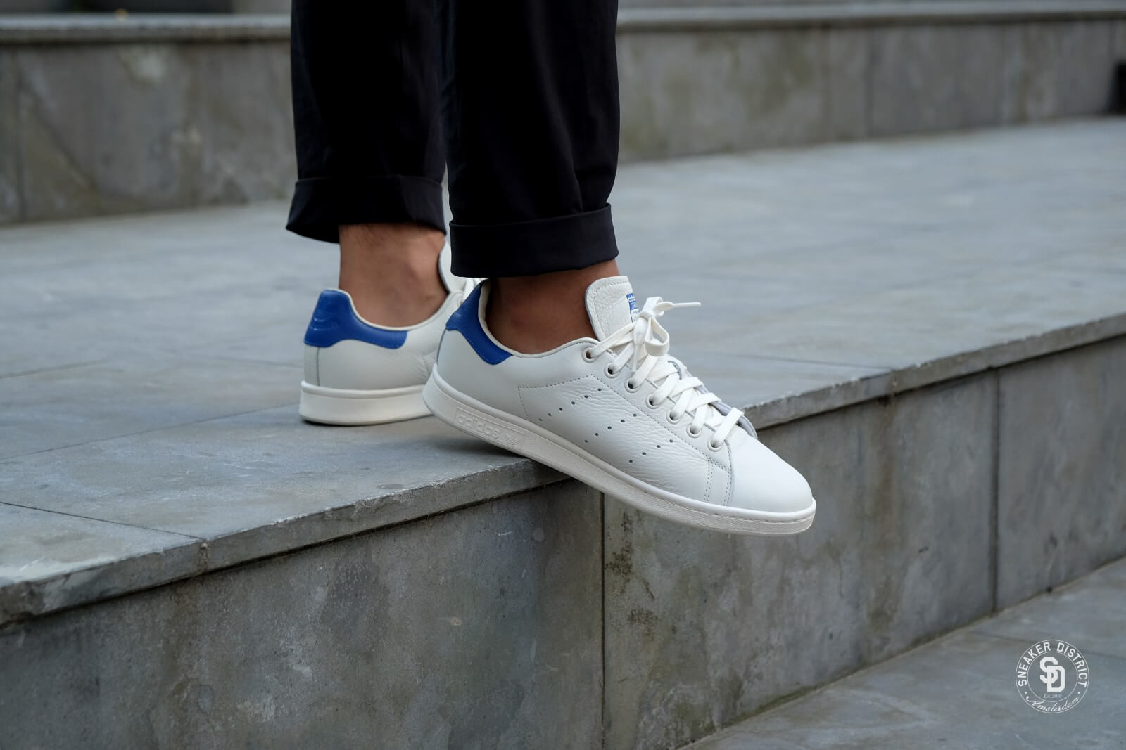 Cuppen Waalre Adidas Stan Smith Chalk White Collegiate Royal B37899