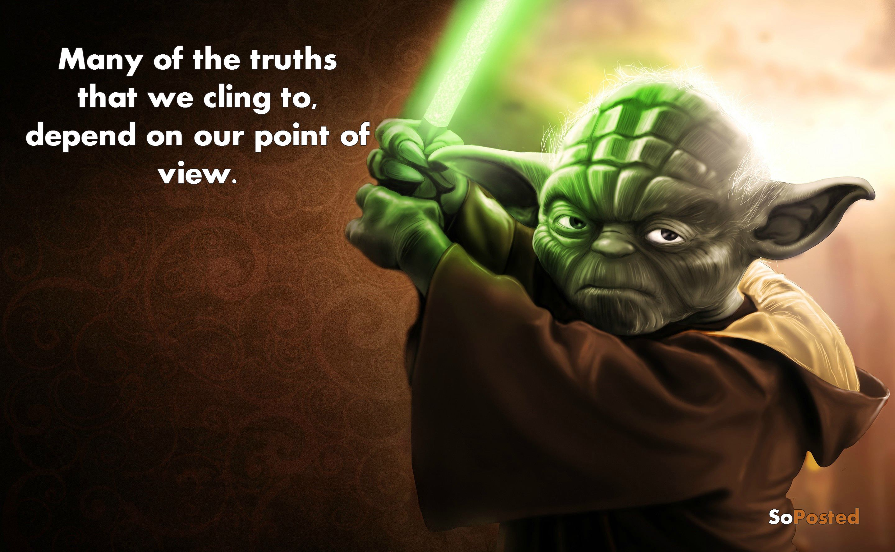 Yoda Wallpaper Quotes Yoda Ultimate Quotes By The Jedi Master Soposted