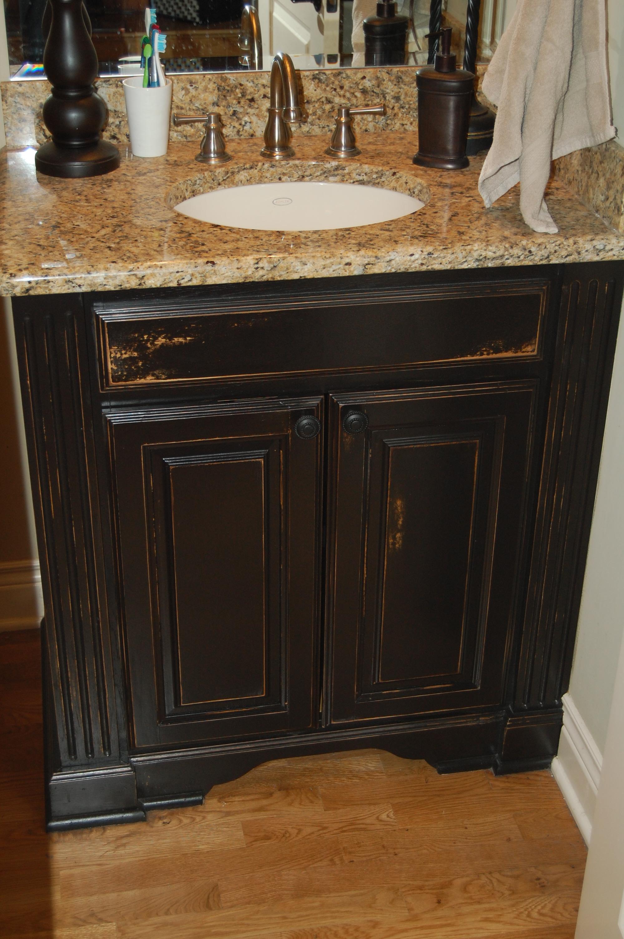 Distressed black bathroom vanity jpg distressed