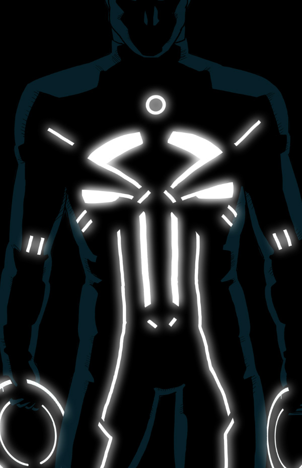 Spiderman Wallpaper Iphone X 23 Tron Style Marvel Characters By Kristafer Anka Geektyrant