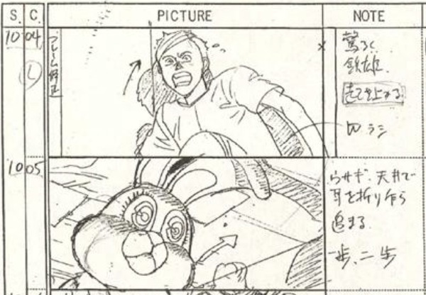 AKIRA - Download 400+ Pages of Original Storyboards \u2014 GeekTyrant - anime storyboard