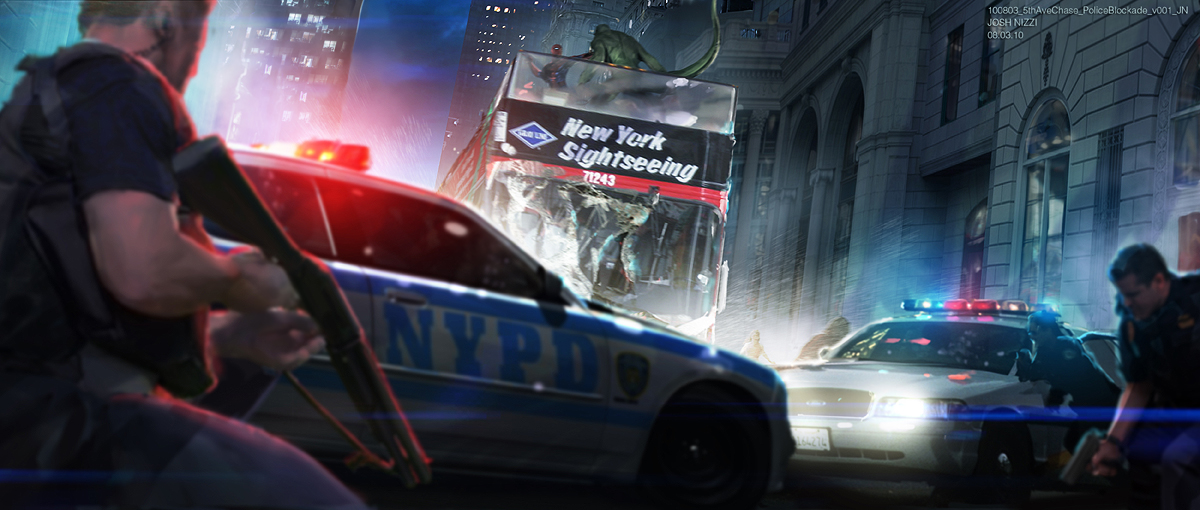 Spider Man 3d Live Wallpaper The Amazing Spider Man Concept Art Cut New York Chase