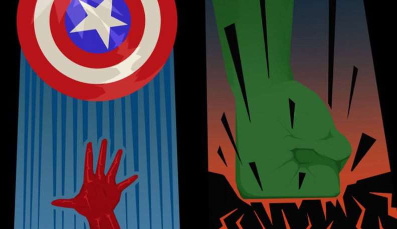 Times Square Iphone 6 Wallpaper The Avengers Minimalist Character Posters Geektyrant
