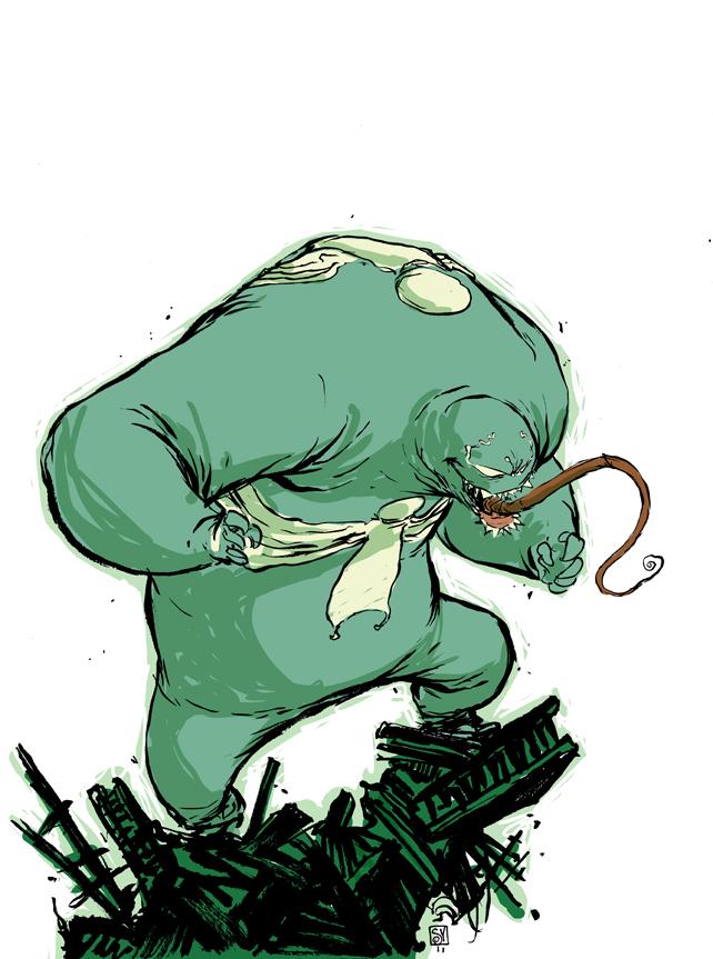 Cute Ninja Turtle Wallpaper Featured Geek Artist Marvel Comics Artist Skottie Young