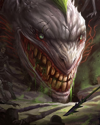 Animated Snake Wallpaper Medieval Batman Vs Dragon Joker Fan Art Geektyrant
