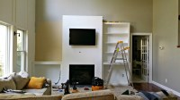 """Living Room Built-Ins """"Tutorial"""" + Cost  Decor and the Dog"""