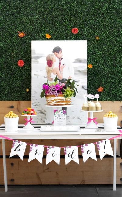 Garden Party Bridal Shower — Kristi Murphy | DIY Ideas