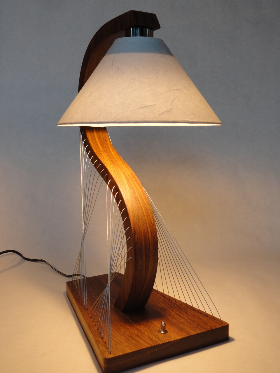 Houten Design Lamp Custom Bedside Lamps — Robby Cuthbert Design