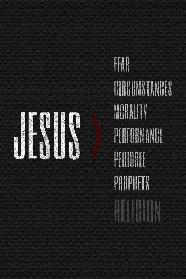 Obey Wallpaper Iphone 7 Jesus Is Greater Josh Byers