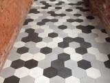 Hexagonal Terazzo Cement Tiles Are Here