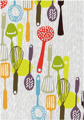 Iphone Product Red Wallpaper Currently Craving Kitchen Utensil Graphic Patterns