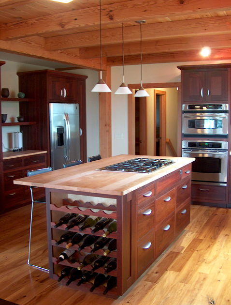 Butcher Block Island Top Counters + Tops — Newwoodworks