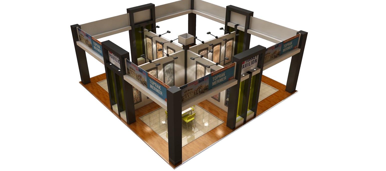 The Ultimate Tile Stone Show Exhibit Visualization