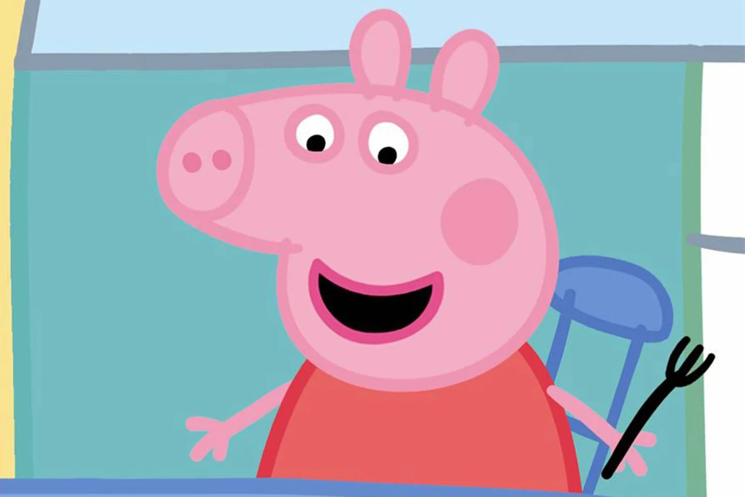 Cuisine Peppa Pig Sketch Of Peppa Pig S Front Face Branded The Stuff Of