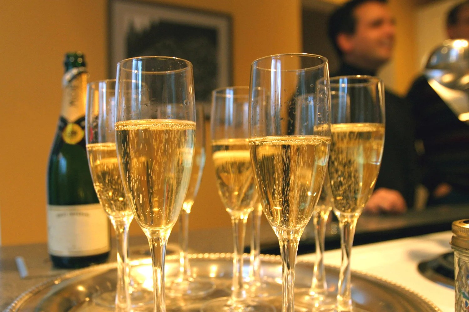 Drinking Wine In Drinking Three Glasses Of Champagne 'could Help Prevent