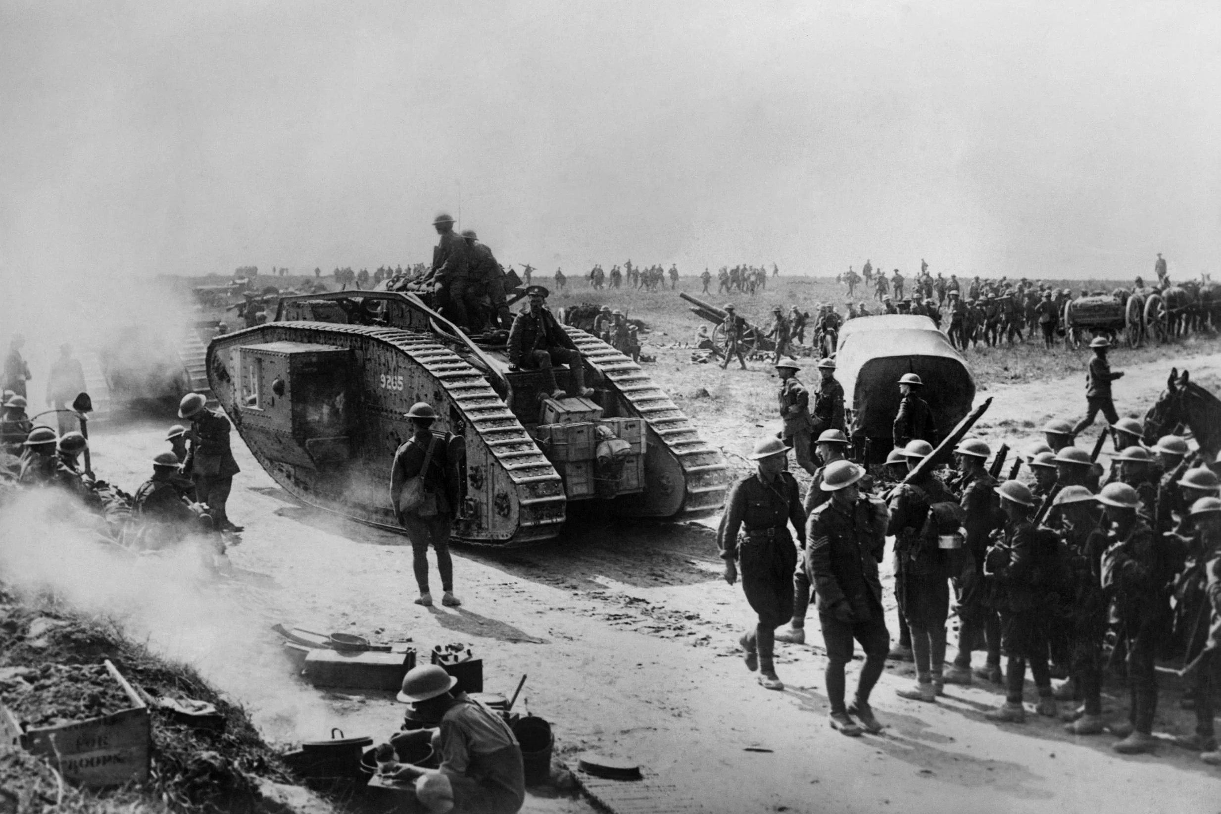 Facts About Wwi Battle Of Amiens Ww1 What Was The Famous 1918 Battle Who Won It