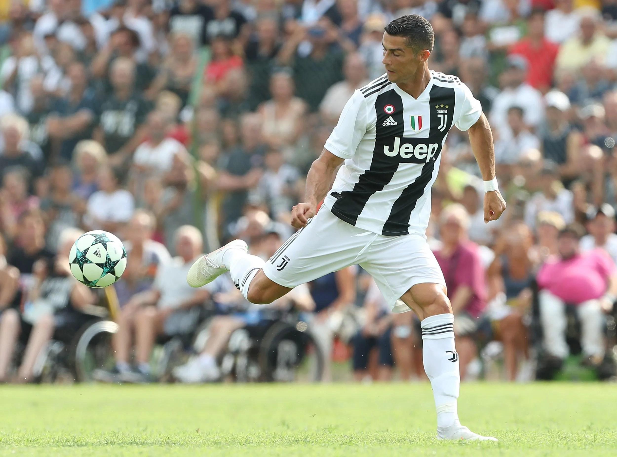 Good Evening Hd Wallpaper Cristiano Ronaldo Scores His First Juventus Goal Eight