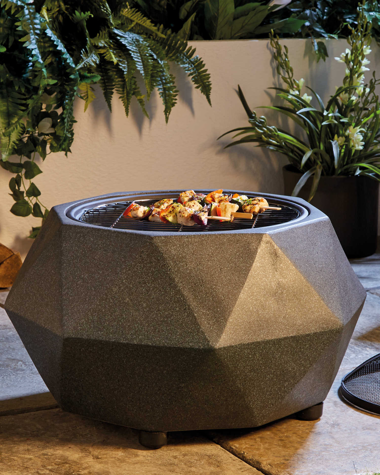 Barbecue Aldi Aldi Launch 50 Fire Pit That Doubles As A Bbq And It S Already A