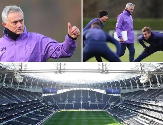 Image result for mourinho spurs