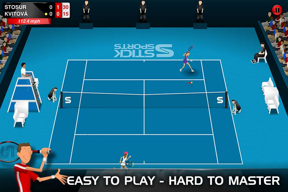Stick Tennis v1.3.1 (All Levels Unlocked) Apk Game Download