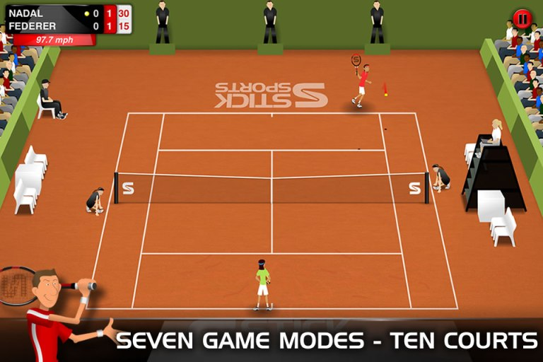 Stick Tennis (All Levels Unlocked) v1.3.1 APK