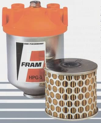 Fram Fuel Filters - 3/8 in Inlet Size - Free Shipping on Orders