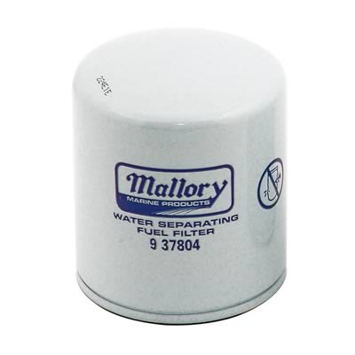 Mallory Marine Outboard Fuel Water Separating Filters 9-37804 - Free