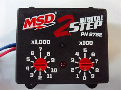 MSD Digital 2-Step Rev Controllers - V8 Engine Type - Free Shipping