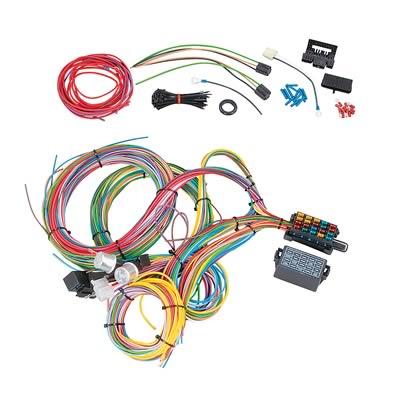 Summit Racing® 18-Circuit Universal Wiring Harnesses SUM-890020