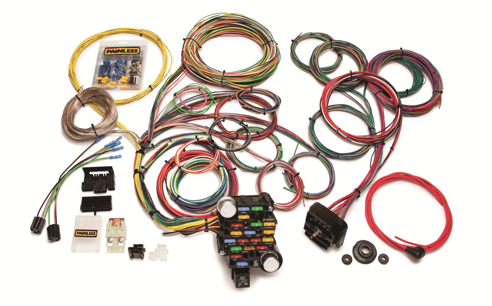 18 circuit wiring harness
