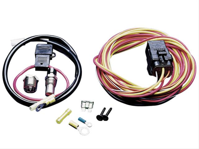 Spal Electric Fan Wiring Harness Kits 185FH - Free Shipping on