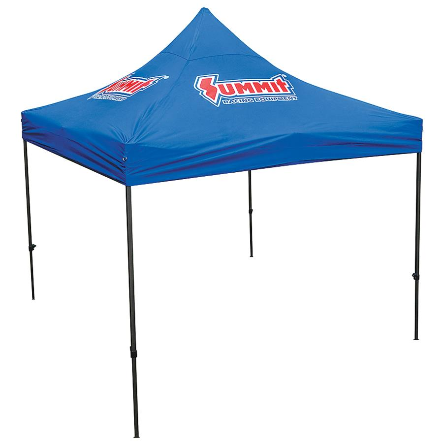 Pop Up Canopy Summit Racing 10 X 10 Pop Up Canopy Tents Sum 941061