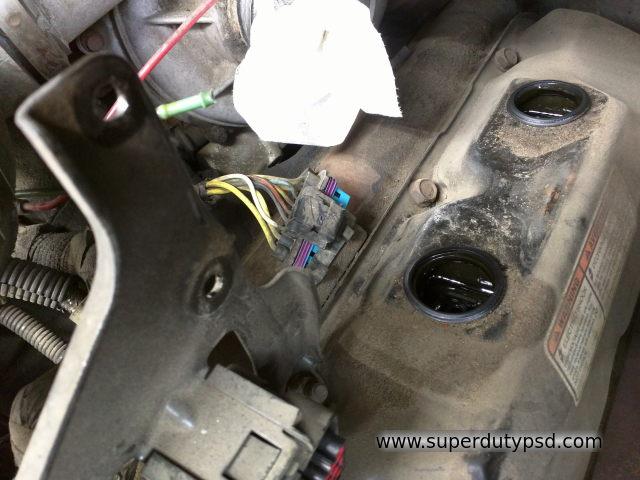 Ford Super Duty 73L Powerstroke Glow Plug Replacement Procedure