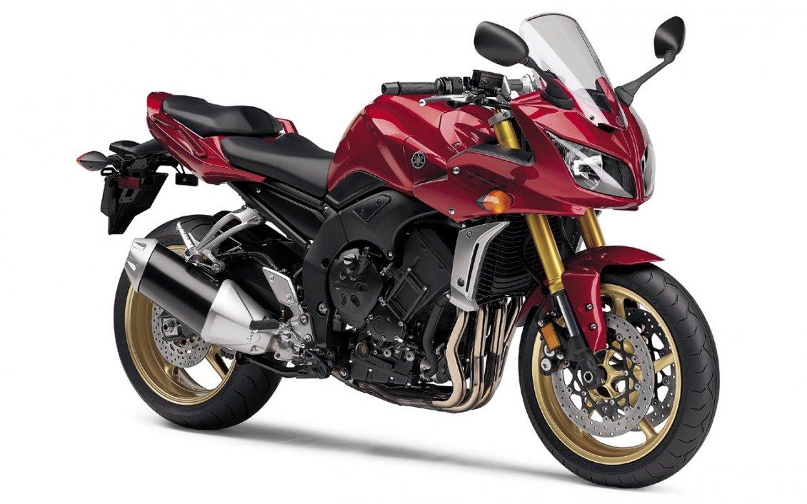 3d Yamaha Wallpaper Red And Black Yamaha Fz1 Motorcycle