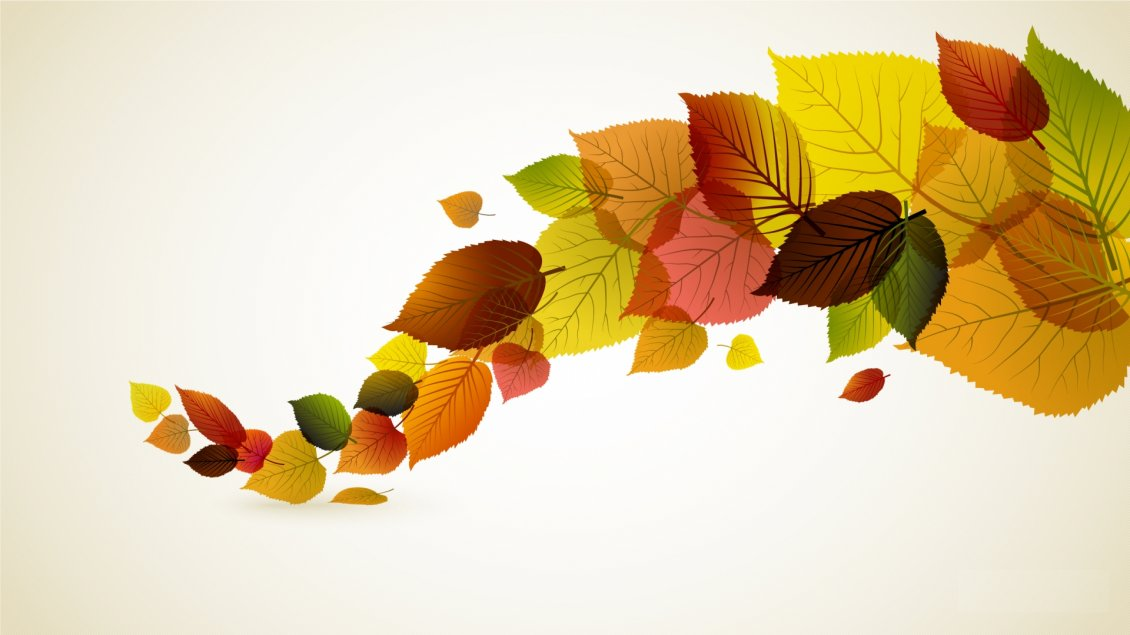 Fresh New Fall Hd Wallpapers Abstract Autumn Leaves Colored Line