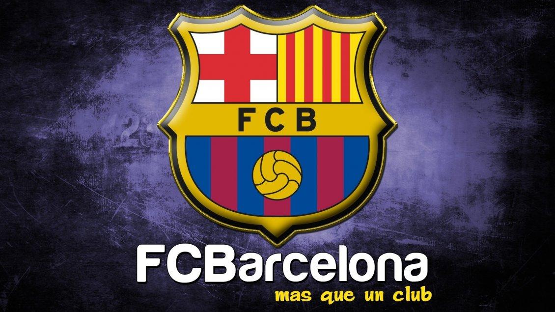 Wallpaper Barcelona Fc 3d Logo Of Fc Barcelona Football Club