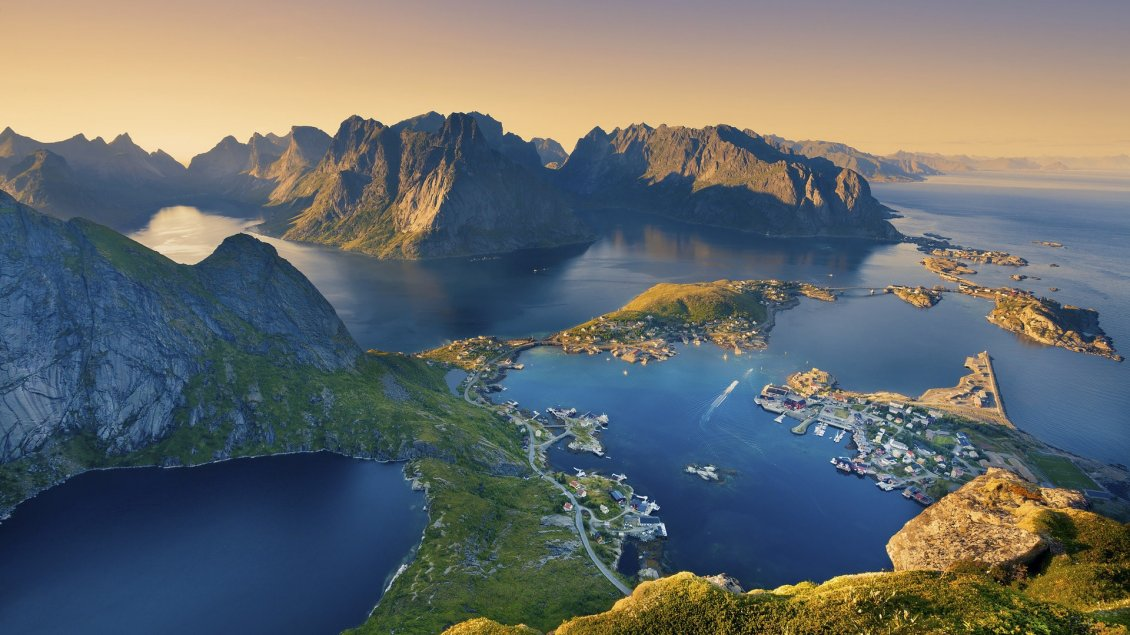 Cute 3d Cartoon Wallpapers Lofoten Island From Norway Landscape Wallpaper